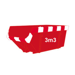 bouwafval-container-3m3