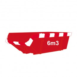 bouwafval-container-6m3