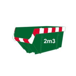 Groenafval container 2m3