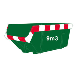 Groenafval container 9m3